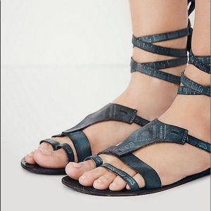 Free People Oliviera Wrap Sandal